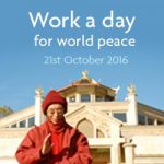 Work a day for World Peace