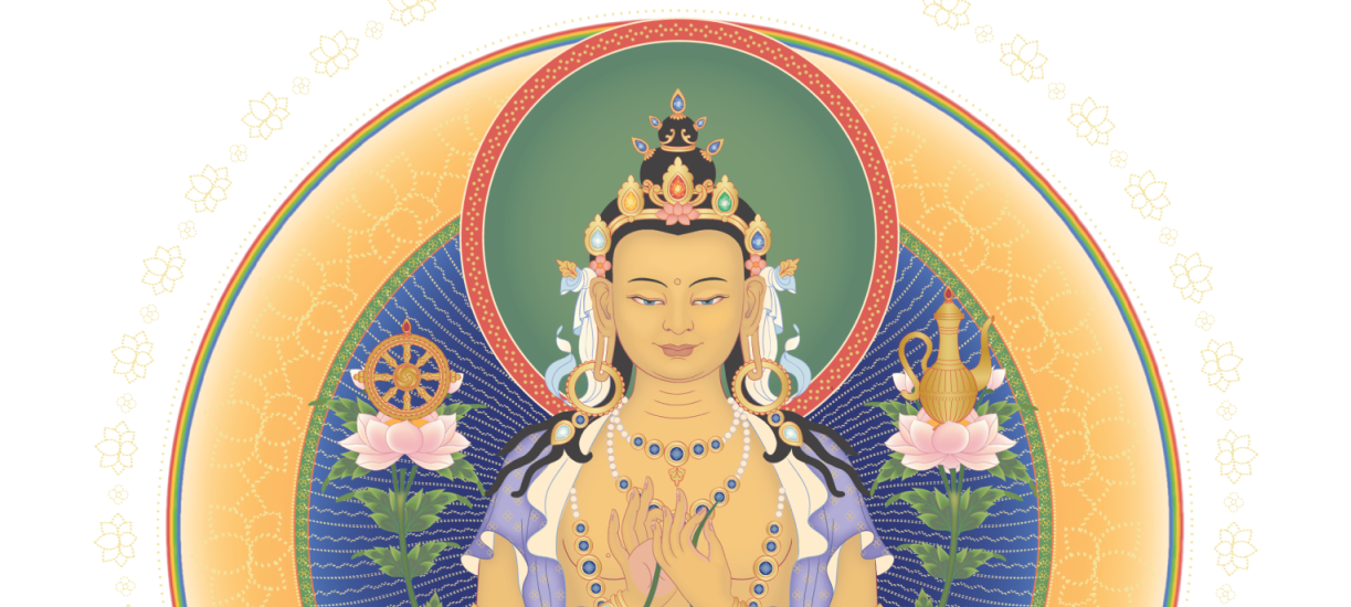 Saturday 14th March 2020 – The Blessing Empowerment of Buddha Maitreya